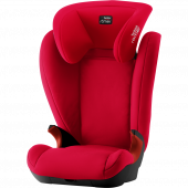 Детское автокресло Britax Roemer Kid II Black Series Fire Red Trendline